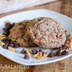 Belgium Dark Chocolate and Walnut cookie