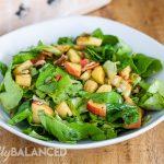 Balsamic Apple Pecan Salad
