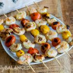 Grilled Pesto Shrimp with Tomatoes